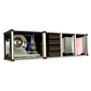 Grupo de filtración y tratamiento del aire - Paneles de chapa cincada 8/10 - Filtro de malla metálica lavable G2 o Filtro de fibras G4