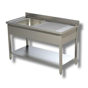 Mobiliario de acero inoxidable para cocinas profesionales