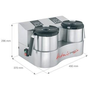 CORTADOR de cocina sistema-Mod. Multifunción HOTMIXPRO fácil: mezclador, cortador, cocina + 130 de capacidad del sistema temperatura taza + 24 ° / 2 ° lt C-Potencia 2000 W-dimensiones cm L x 21.2 x 31,2 P 30, 2:00
