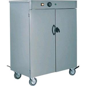 MESA CALIENTA PLATOS - MOD. MS - Estructura de acero inox AISI 304 - Termostato ajustable 30°/90°C - N. 1 estante intermedio - Alimentación V230 50/60 Hz