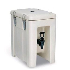 CONTENEDOR ISOTÉRMICO - MOD. QC05 - Para el transporte de bebidas y alimentos líquidos - Calientes o fríos - Capacidad Lt. 4,3 - Medidas cm L24,5xP35x39,5H - CE