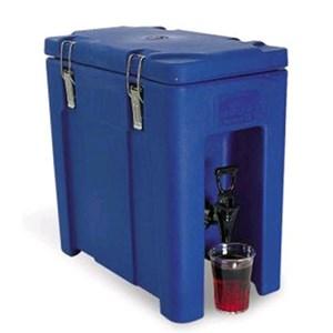 CONTENEDOR ISOTÉRMICO - MOD. QC10 - Para el transporte de bebidas y alimentos líquidos - Calientes o fríos - Capacidad Lt. 10 - Medidas cm L 24 x P 43 x 43 H - CE