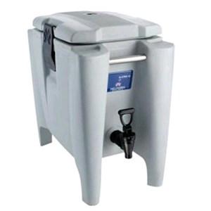CONTENEDOR ISOTÉRMICO - MOD. Q-XTRA - Para el transporte de bebidas y alimentos líquidos - Calientes o fríos - Capacidad Lt. 10 - Medidas cm L 26,5 x P 45 x 45,2 H - CE