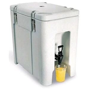 CONTENEDOR ISOTÉRMICO - MOD. QC20 - Para el transporte de bebidas y alimentos líquidos - Calientes o fríos - Capacidad Lt. 19 - Medidas cm L 29,5 x P 46,5 x 46 H - CE