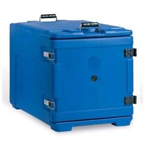CONTENEDOR ISOTÉRMICO CON APERTURA FRONTAL - MOD. AF7 - Para el transporte de comidas multiporción - Calientes, fríos o congelados - GASTRONORM GN1/1, 1/2 y 1/3 - Capacidad Lt. 63 - Medidas cm L 44 x P 64 x 48 H - CE