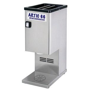 TRITURADOR DE HIELO - Mod. ARTIC 66 - Producción Kg/h 90 - Potencia kW 0,3 - Alimentación 230V monofásica - Medidas cm L 19 x P 27 x 49h - CE