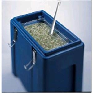 CONTENEDOR ISOTÉRMICO - MOD. EY13 - Para el transporte de bebidas y alimentos líquidos - Calientes o fríos - GASTRONORM GN1/3 - Capacidad Lt. 13,75 - Medidas cm L 24 x P 43 x 37,5 H - CE