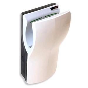 SECADORA DE MANOS ELÉCTRICO DE ÚLTIMA TECNOLOGÍA- Mod. DUALFLOW - ABS blanco - De introducción vertical - Secado ultra-rápido  - de bajos consumos