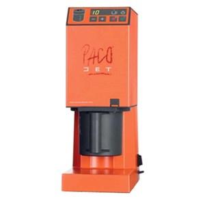 PACOJET-MOD. PACOJET JUNIOR capacidad vidrio lt 0.8-2000 rpm cuchilla velocidad-alimentación V/50 230 Hz solo fase potencia W 1000-pantalla con botones-CE