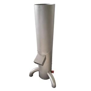 MOLINO DE PAN - MOD. GRI131 - Estructura de acero inoxidable - Cedazo individual - N. 1 granulometría da 3 mm - Producción máxima 150 kg/h