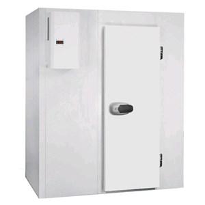 Cámara frigorífica modular - Espesor del panel cm  7 - Sin suelo - H 207 - Con n. 1 puerta de cm 80 x h 185 - Motor excluido
