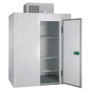 Cámara frigorífica modular - Espesor del panel cm 7 - Con suelo - H 254 - Con n. 1 puerta de cm 80 x h 185 - Motor excluido