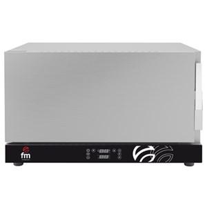 Regenerador Digital FM mod. RG 311 - Capacidad bandejas: 3 x GN 1/1 - 99 programas de cocción - Con regulador de humedad de 0%-100% - Potencia 3,9 kw - Monofásico 230v-50/60hz - Temperatura máxima 170°C - Peso 39 kg - Dim. Ext. 735x710x450