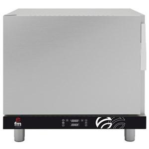 Regenerador Digital FM mod. RG 611 - Capacidad bandejas: 6 x GN 1/1 - 99 programas de cocción - Con regulador de humedad de 0%-100% - Potencia 5,65 kw - Trifásico/Monofásico 400v/230v-50/60hz - Temperatura máxima 170°C - Peso 52 kg - Dim. Ext. 735x710x720