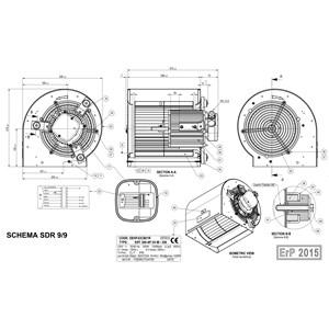 Turbina para campanas SDR