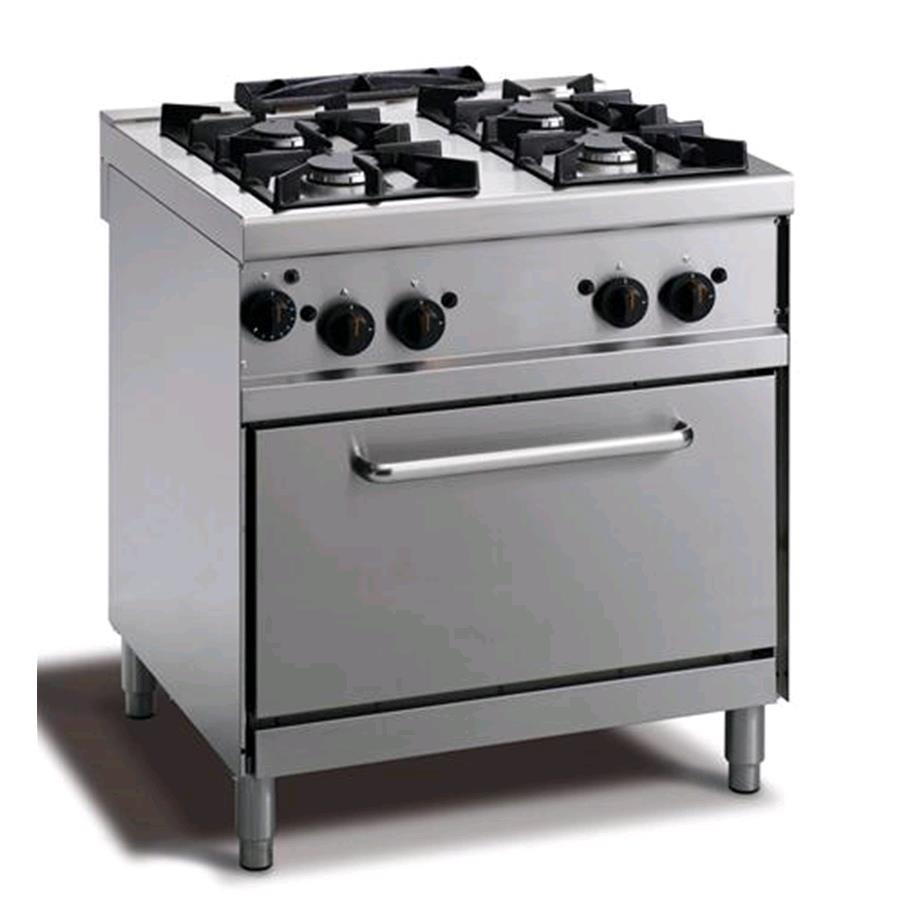 Cocina A Gas Mod N74ggyh N 4 Fuegos Horno A Gas Gn