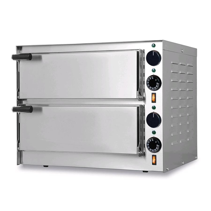 Horno el ctrico para pizza mod little bis n 2 c ma for Horno electrico medidas